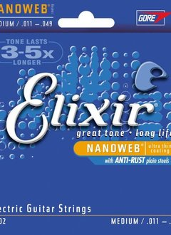 Elixir Elxir Nanoweb Electric Medium