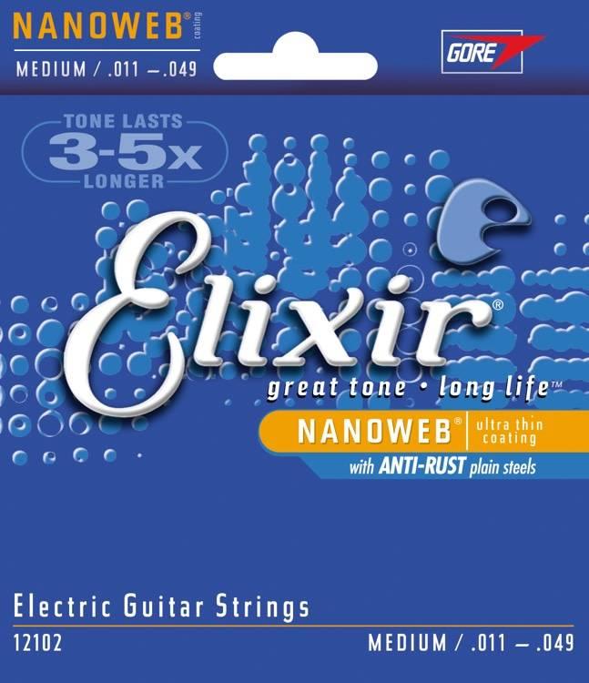 Elixir Elxir Nanoweb Electric Medium