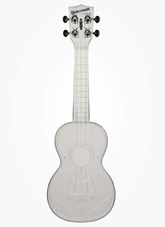 Kala Kala Waterman Translucent Ukulele - Gloss, All Clear