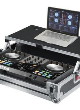 Gator G-TOUR Universal Fit Road Case for Small Sized DJ Controllers with Sliding Laptop Platform
