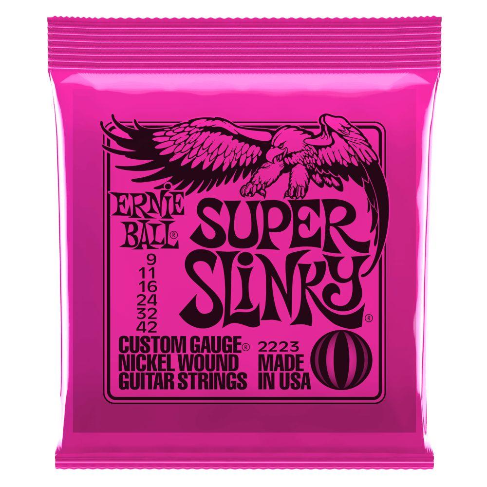 Ernie Ball Super Slinky Electric Strings