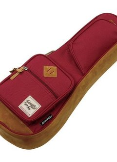 Ibanez Ibanez PowerPad 541 Soprano Ukulele Bag, Wine Red