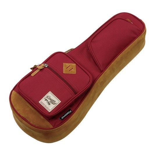 Ibanez Ibanez PowerPad 541 Soprano Ukulele Bag, Wine Red
