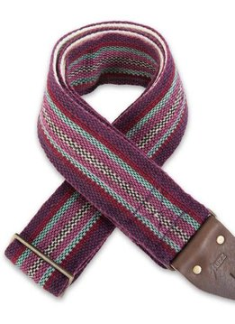 Original Fuzz Peruvian Strap - Purple Stripe