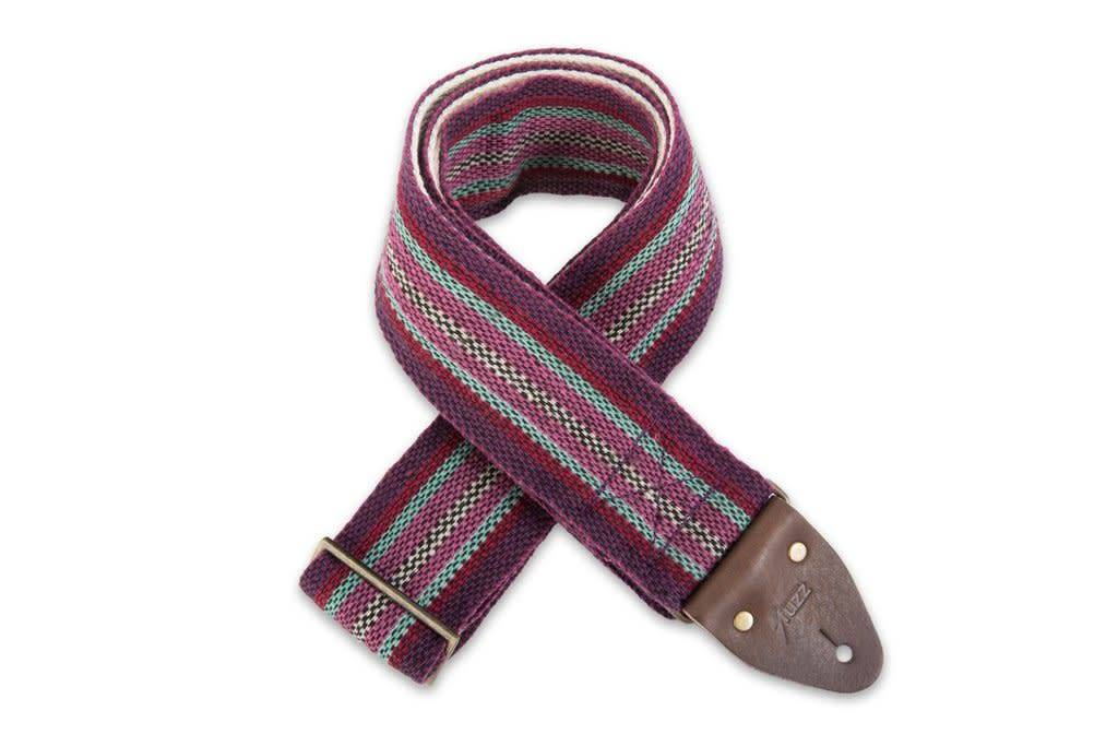 Fuzz Original Fuzz Peruvian Strap - Purple Stripe