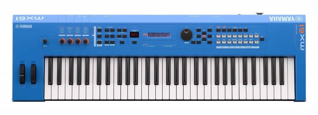 Yamaha Yamaha MX61BU Blue 61 Key Synth