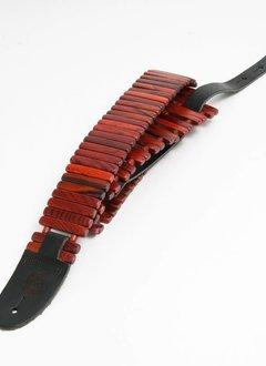 Revo Guitar Straps Revo Solano Style Guitar Strap Rosewood