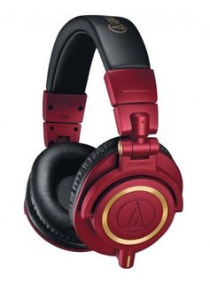 Audio-Technica Audio Technica ATH-M50xRD Limited Edition Headphones
