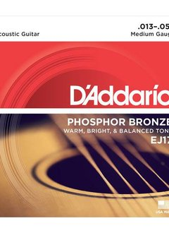 D'Addario D'Addario EJ17 Phosphor Bronze Medium Gauge