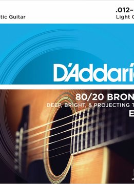 D'Addario D'Addario EJ11 80/20 Bronze Light Gauge
