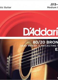D'Addario D'Addario EJ12 80/20 Bronze Medium Gauge