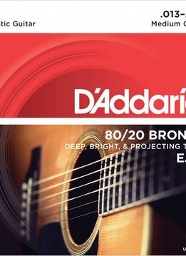 D'Addario D'Addario EJ12 80/20 Bronze Medium Gauge