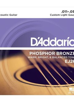 D'Addario D'Addario EJ26 Phosphor Bronze Custom Light