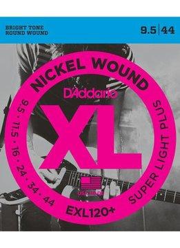 D'Addario D'Addario EXL125+ Super Light Plus 9.5-44