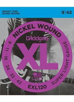 D'Addario D'Addario EXL120 Super Light Strings 9-42