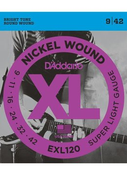 D'Addario D'Addario EXL120 Super Light Strings