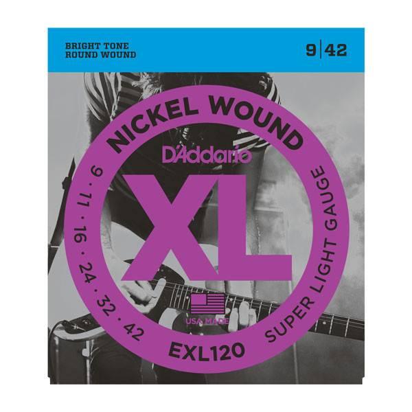 D'Addario D'Addario EXL120 Super Light Strings