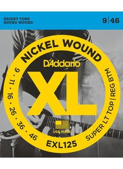 D'Addario D'Addario Set Super Light Top/Regular Bottom 9-46