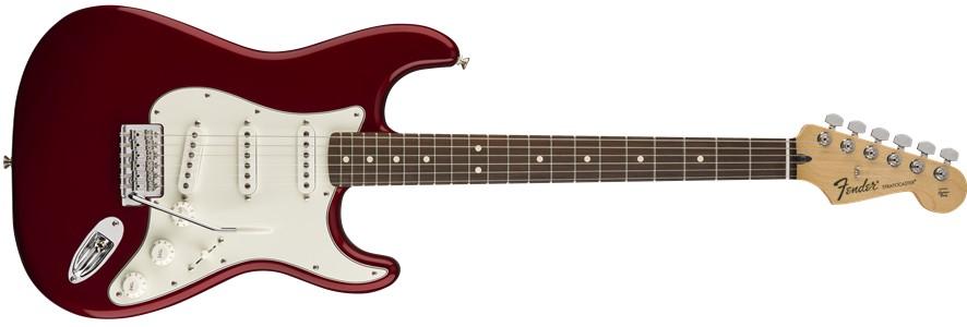 Fender Fender Standard Stratocaster®, Pau Ferro Fingerboard, Candy Apple Red
