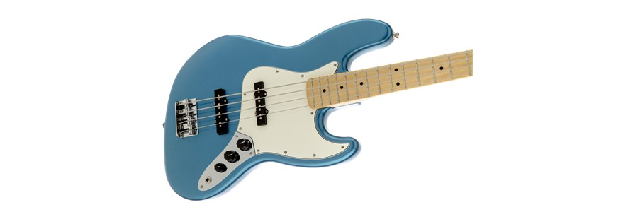 Fender Fender Standard Jazz Bass®, Maple Fingerboard, Lake Placid Blue