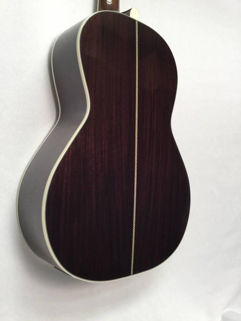 Fender Fender PM-2 Deluxe Parlor, Ebony Fingerboard, Vintage Sunburst
