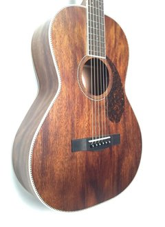 Fender Fender PM-2 Parlor All Mahogany with Case, Natural