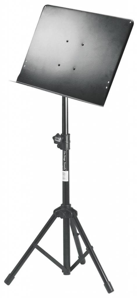 On-Stage On-Stage SM7211B Conducter Stand w/ Tripod Base