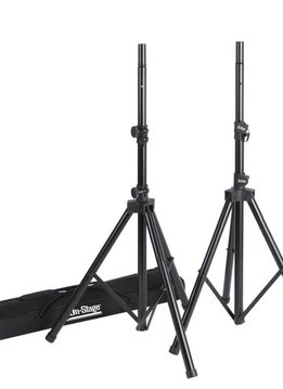 On-Stage On-Stage SSP7950 All Aluminum Speaker Stand Set w/ Deluxe Bag
