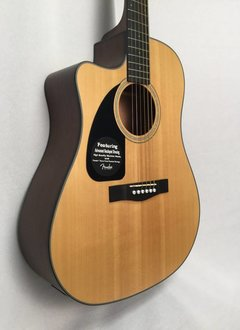 Fender Fender CD-100CE Left-Handed Acoustic/Electric, Natural