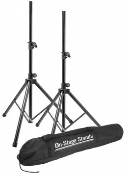 On-Stage On-Stage SSP7900 Aluminum Speaker Stand Set w/ Bag