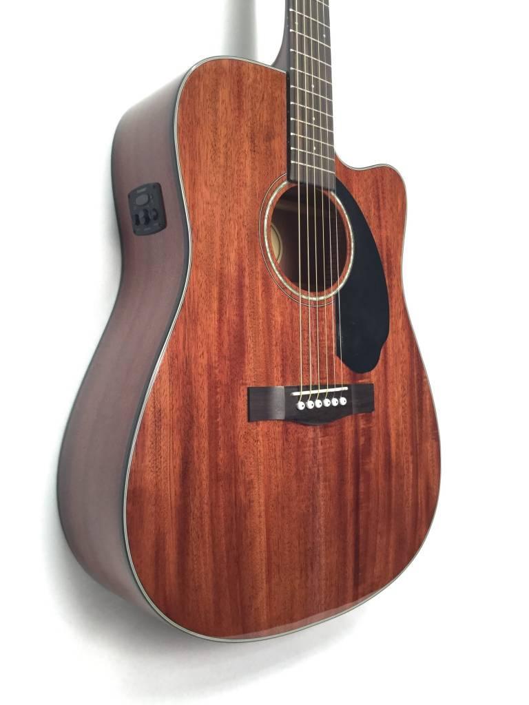 Fender CD-60SCE All Mahogany, Natural