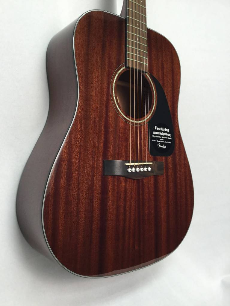 Fender Fender CD-60 All Mahogany Acoustic- Without Case