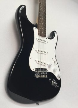 Squier Squier Bullet Stratocaster® Hard Tail, Rosewood Fingerboard, Black