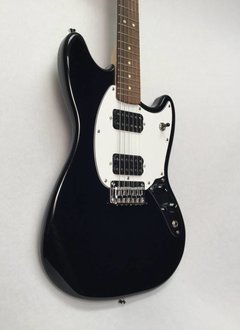 Squier Squier Bullet Mustang HH Electric Guitar- Black