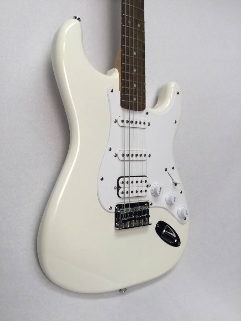 Squier Squier Bullet Stratocaster® HSS HT, Rosewood Fingerboard, Arctic  White