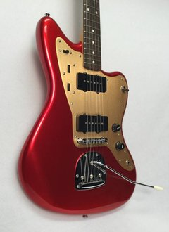 Squier Squier Deluxe Jazzmaster®, Rosewood Fingerboard, Candy Apple Red