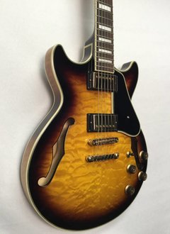 Ibanez Ibanez AM93AYS Artcore Expressionist - Antique Yellow Sunburst