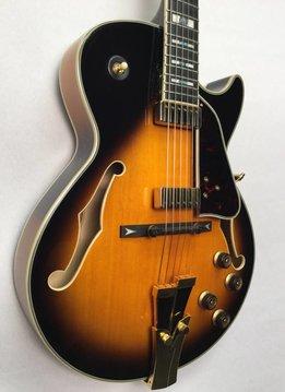 Ibanez Ibanez GB10SE George Benson Hollowbody Guitar, Brown Sunburst