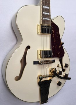 Ibanez Ibanez Artcore Series AF75TDG Hollow-body Guitar - Ivory