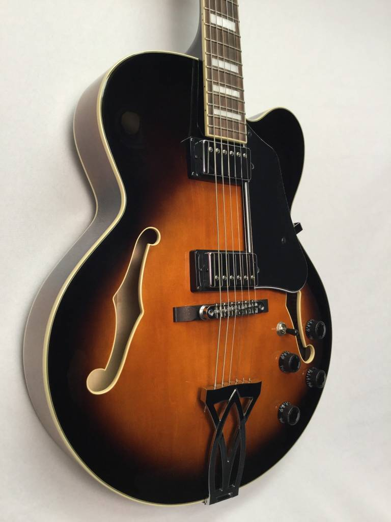 Ibanez Ibanez AF75VSB Hollowbody Electric Guitar- Vintage Sunburst