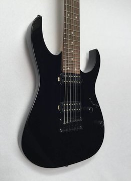 Ibanez Ibanez RG7421 7-String Electric Guitar, Black