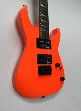 Jackson Jackson JS Series Dinky™ Minion JS1X, Rosewood Fingerboard, Neon Orange