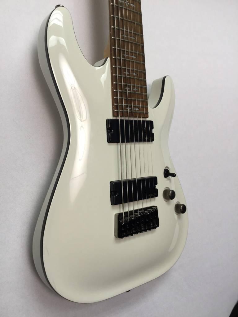 Schecter Schecter Omen 8 String Guitar, Vintage White