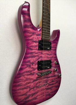 Schecter Schecter C-6 Plus Electric Guitar,  Electric Magenta