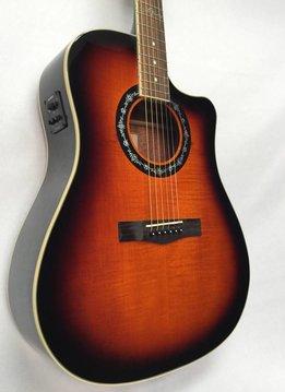 Fender Fender T-Bucket 300CE, 3-Tone Sunburst