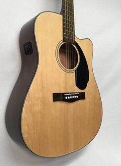 Fender Fender CD-60SCE Solid Top Acoustic/Electric, Natural