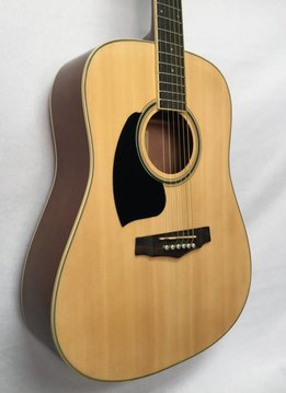 Ibanez Ibanez PF15LNT Acoustic Guitar, Left Handed, Natural High Gloss