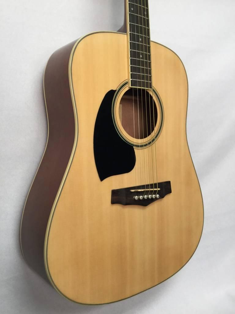 Ibanez Ibanez PF15LNT Acoustic Guitar, Left Handed, Natural High Gloss