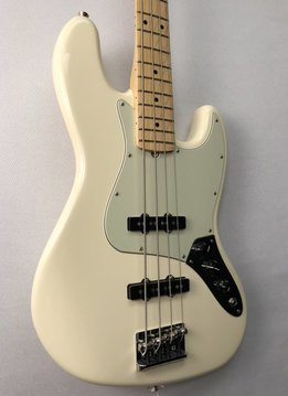 Fender Fender American Pro Jazz Bass®, Maple Fingerboard, Olympic White