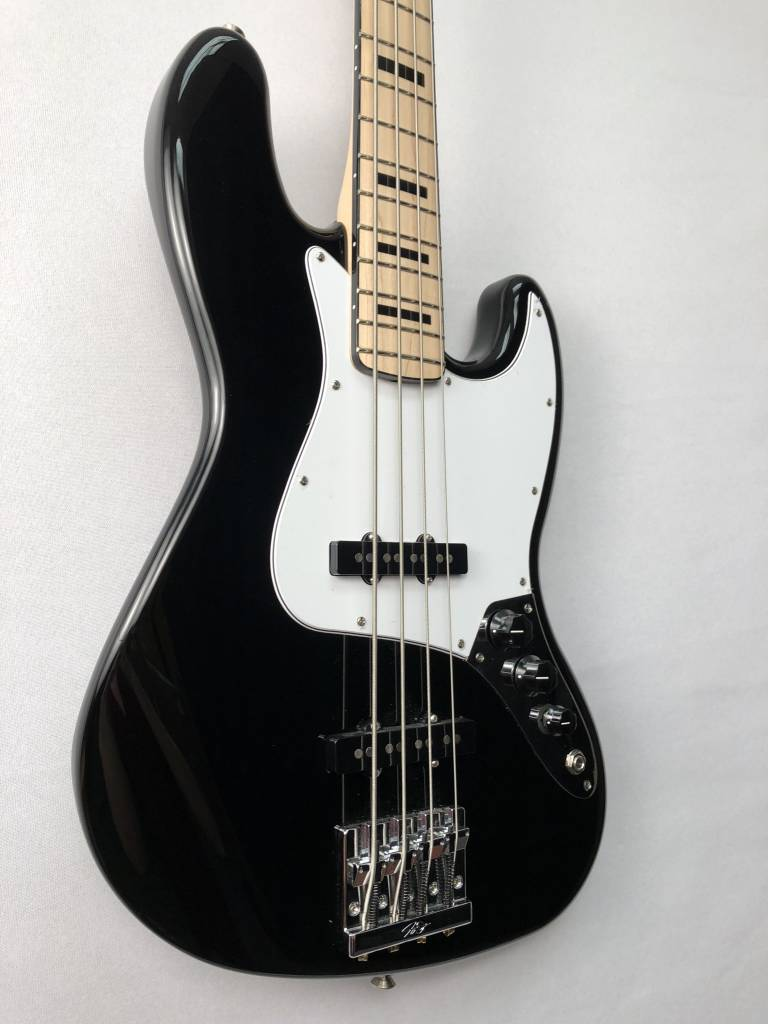 Fender Fender Geddy Lee Jazz Bass®, Maple Fingerboard, Black